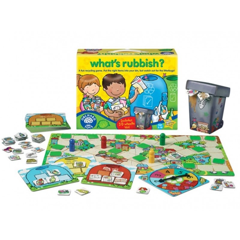 Orchard Toys What's Rubbish Game