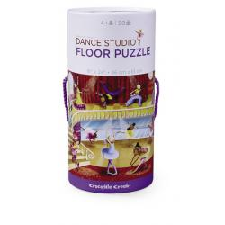 Crocodile Creek Dance Studio Floor Puzzle
