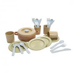 Dantoy Bio Plastic 22 pc Dinner Set