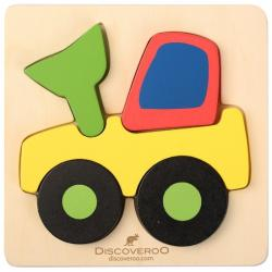 Discoveroo Chunky Wooden Digger Puzzle