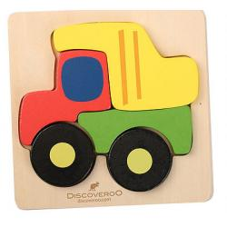 Discoveroo Chunky Wooden Truck Puzzle