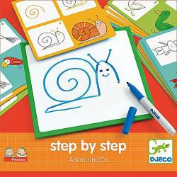 Djeco Step by Step Animals and Co