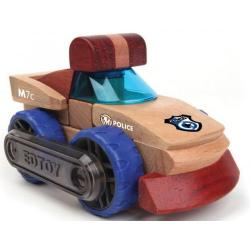 EdToy Transformobile - Police Car