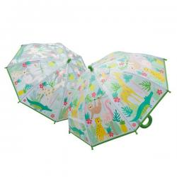 Colour Changing Umbrella - Jungle
