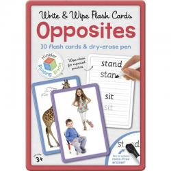 Hinkler Opposites Flashcards in Large Tin