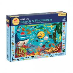 Mudpuppy Ocean Life Search and Find Puzzle