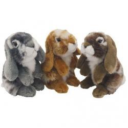 Antics Nibbles Toy Rabbit 20cm
