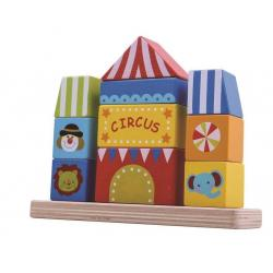 Wooden Circus Block Tower
