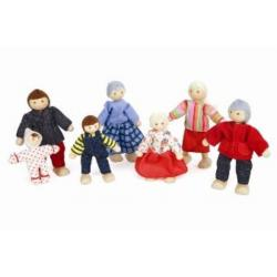 Discoveroo Doll Family