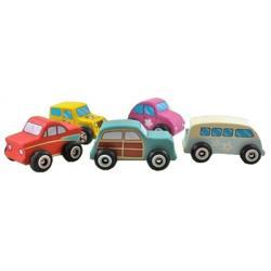 Discoveroo Wooden Beach Car Set