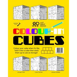 Colour In Cube Storage Box