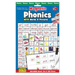 Fiesta Crafts Magnetic Phonics with Words & Pictures