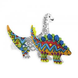 ooly 3D Colorables Activity DIY Dinosaur Friends