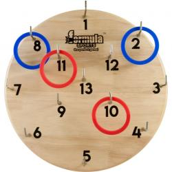 Wooden Hookey Set Outdoor Family Game