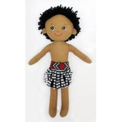 Māori Boy Soft Doll 40cm