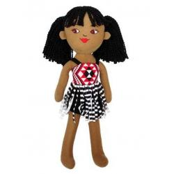 Māori Girl Soft Doll 40cm