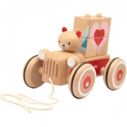 Coco Truck Wooden Pull Along