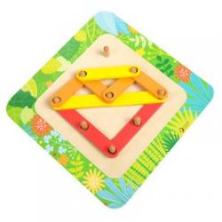 Classic World My Wooden Learning Puzzle