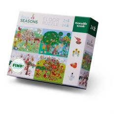 Crocodile Creek Four Seasons Floor Puzzle