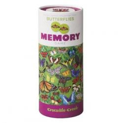 Crocodile Creek Memory Game - Butterflies