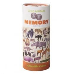 Crocodile Creek Memory Game - Wild Animals