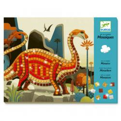 Djeco Mosaic Craft Kit - Dinosaur