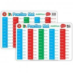 Wipe and Write Practise Mats - Addition
