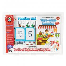 Write and Wipe Learning Set - Early Numbers