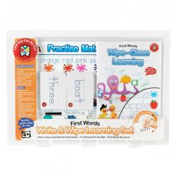 Write and Wipe Learning Set - First Words