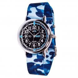 EasyRead Time Teacher Watch  Blue Camo - Black Face