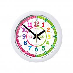 EasyRead Time Teacher Wall Clock Rainbow