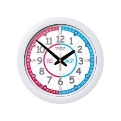 EasyRead Time Teacher Wall Clock Red/Blue