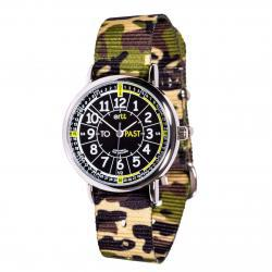 EasyRead Time Teacher Watch Green Camo - Black Face