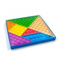 Pop It Fidget Tangram Learning Set