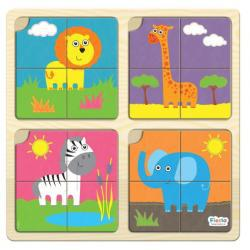 First Wooden Puzzles Set