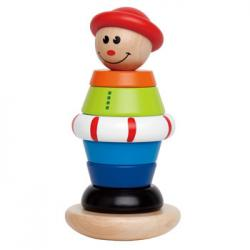 Hape Stacking Jack Wooden Toy