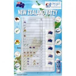 New Zealand Yatzy Dice Game