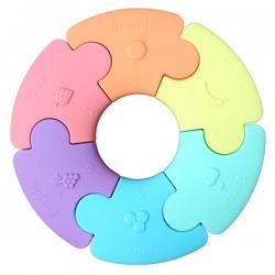 Pastel Colour Wheel Puzzle