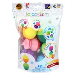 Lalaboom 4 in 1 Snap Beads 12pc