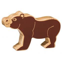 Lanka Kade Wooden Brown Bear