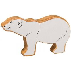 Lanka Kade Wooden Polar Bear