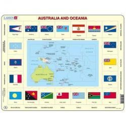 Larsen Australia and Oceania Puzzle