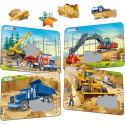 Larsen Construction Mini Puzzle Set