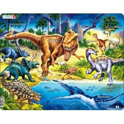 Cretaceous Dinosaurs 57 Piece Puzzle