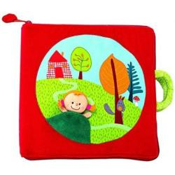 Lilliputiens Cloth Book - Red Riding Hood