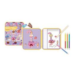 Puzzle and Draw Magnetic Kit - Candy House