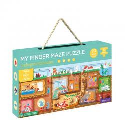 My Finger Maze Puzzle - Underground Houses