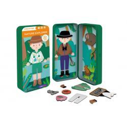 Dream Big Magnetic Puzzle Box - Nature Explorer