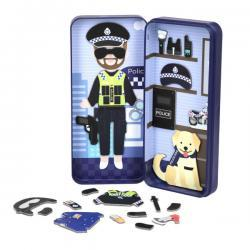 Dream Big Magnetic Puzzle Box - Police Officer