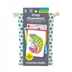 Mudpuppy Crazy Chameleon Playing Cards to Go